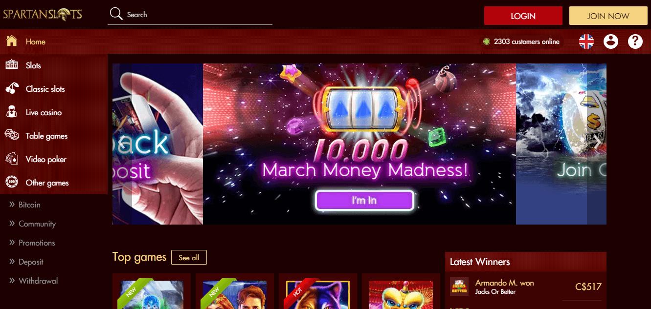 Spartan Slots Casino Free Spins Bonus 2020 Yummyspins
