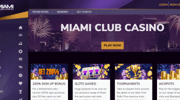 miami club casino new design