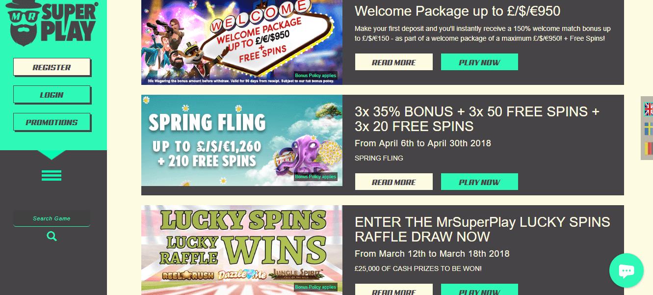 Mr Superplay Casino No Deposit