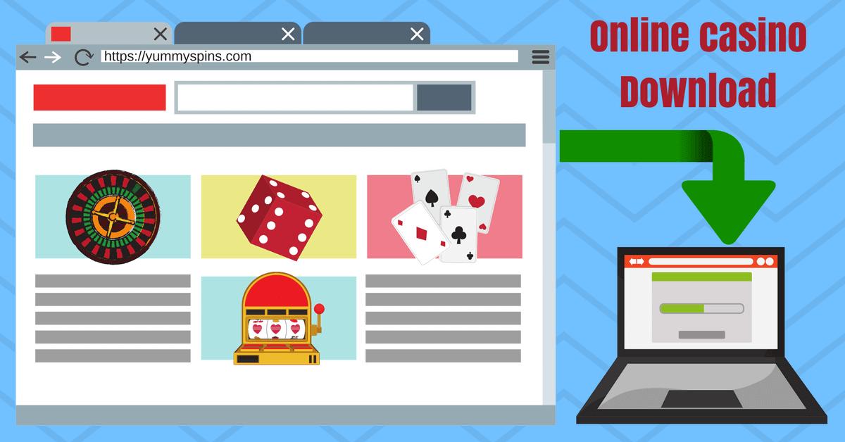 online casino download