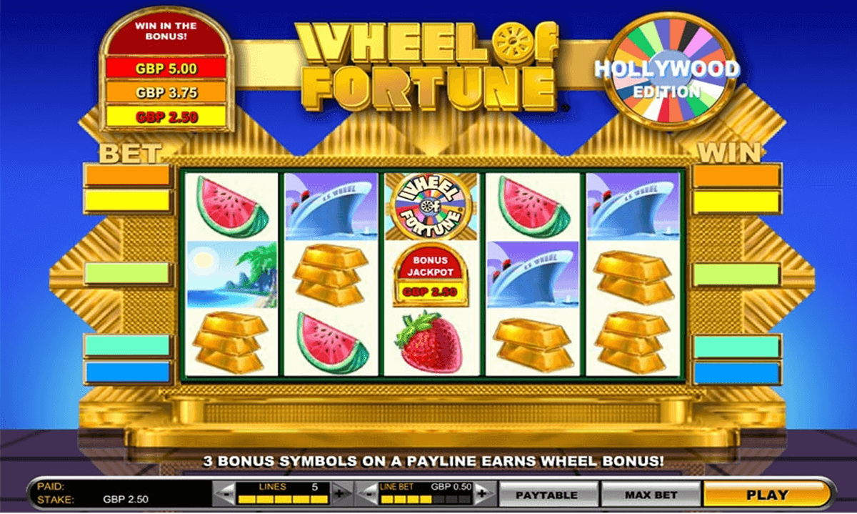 Free Casino Games Wheel Of Fortune