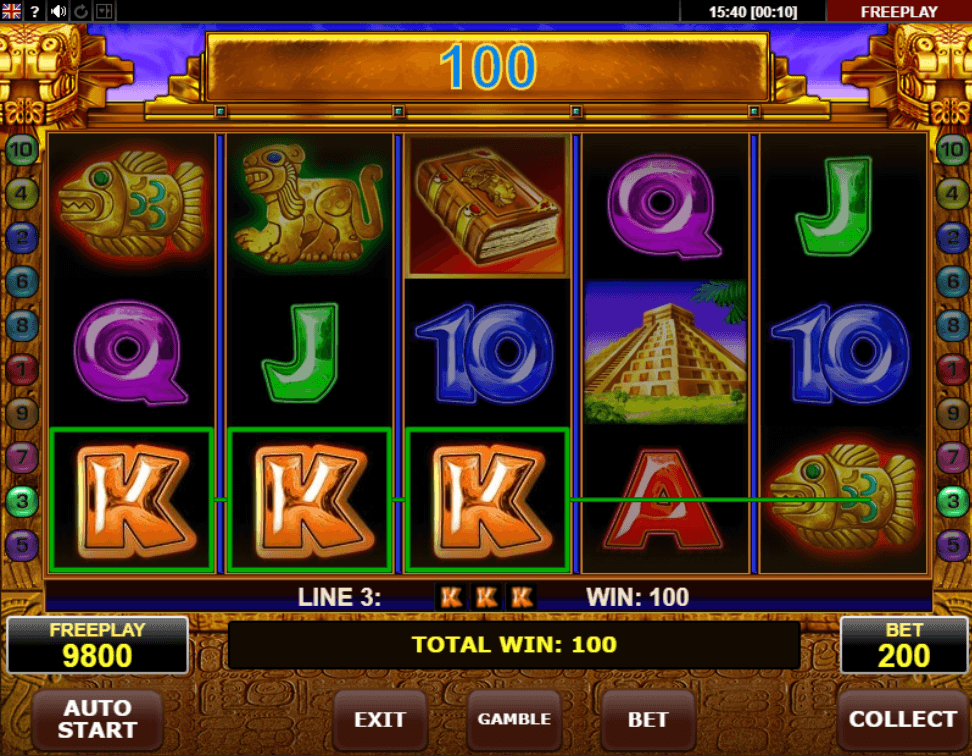 Spiele Book Of Aztec - Video Slots Online