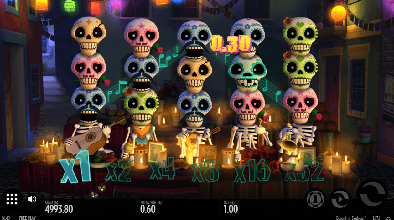 Spiele Esqueleto Explosivo - Video Slots Online