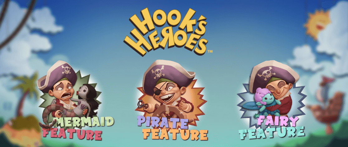Hooks Heroes slot