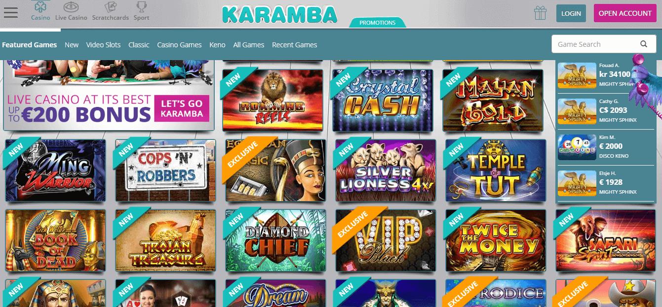 Karamba.com Bonus
