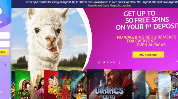 Play Ojo Free Spins
