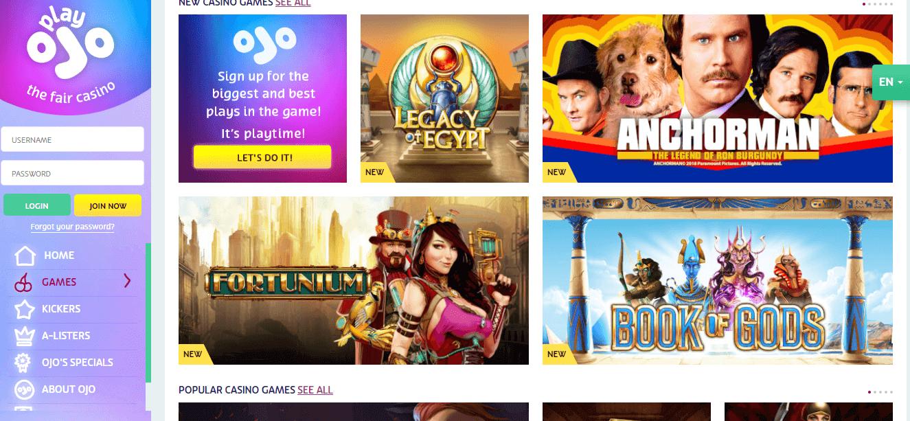 Tropicana online casino signup bonus