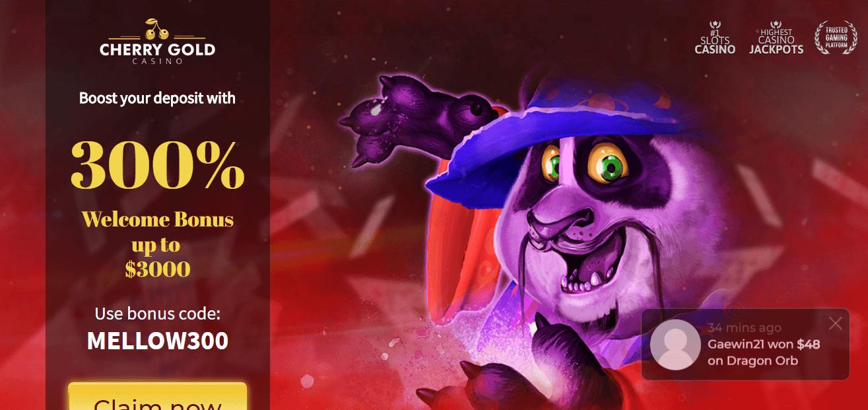 Cherry Gold Casino Free Spins Bonus 2020 Yummyspins