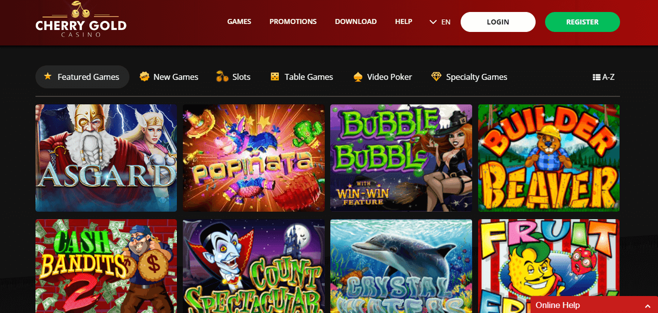 Cherry Casino Free Spins