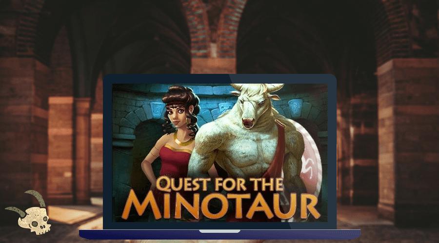 Quest for the Minotaur logo