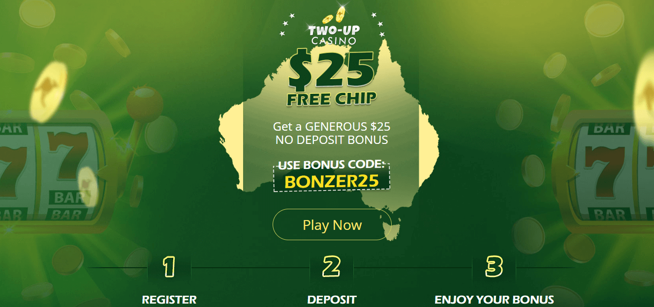 Two-Up Casino Free Spins & Bonus 2019 | YummySpins