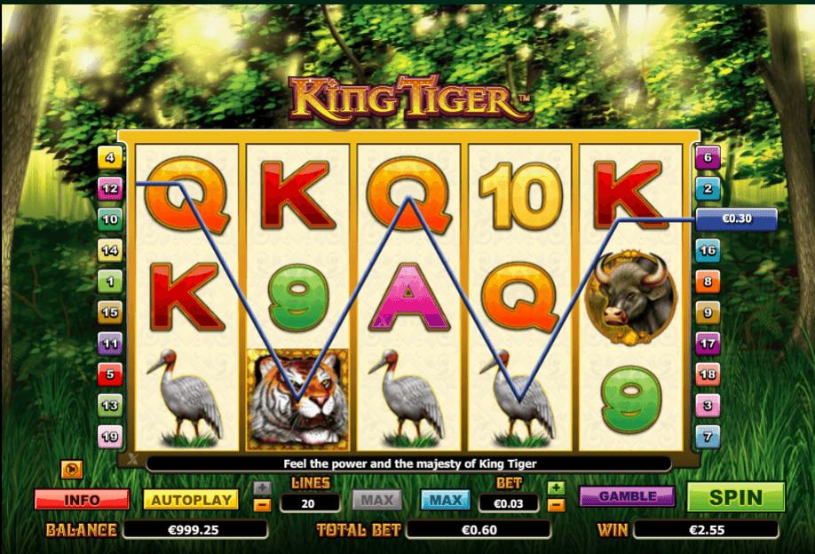 Spiele King Tiger - Video Slots Online