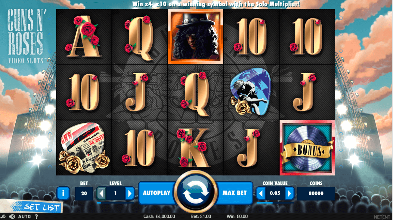 Spiele Guns N Roses - Video Slots Online
