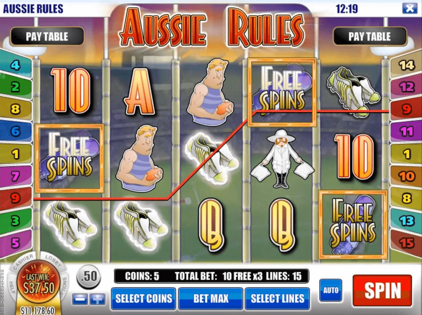 Aussie Video Slots