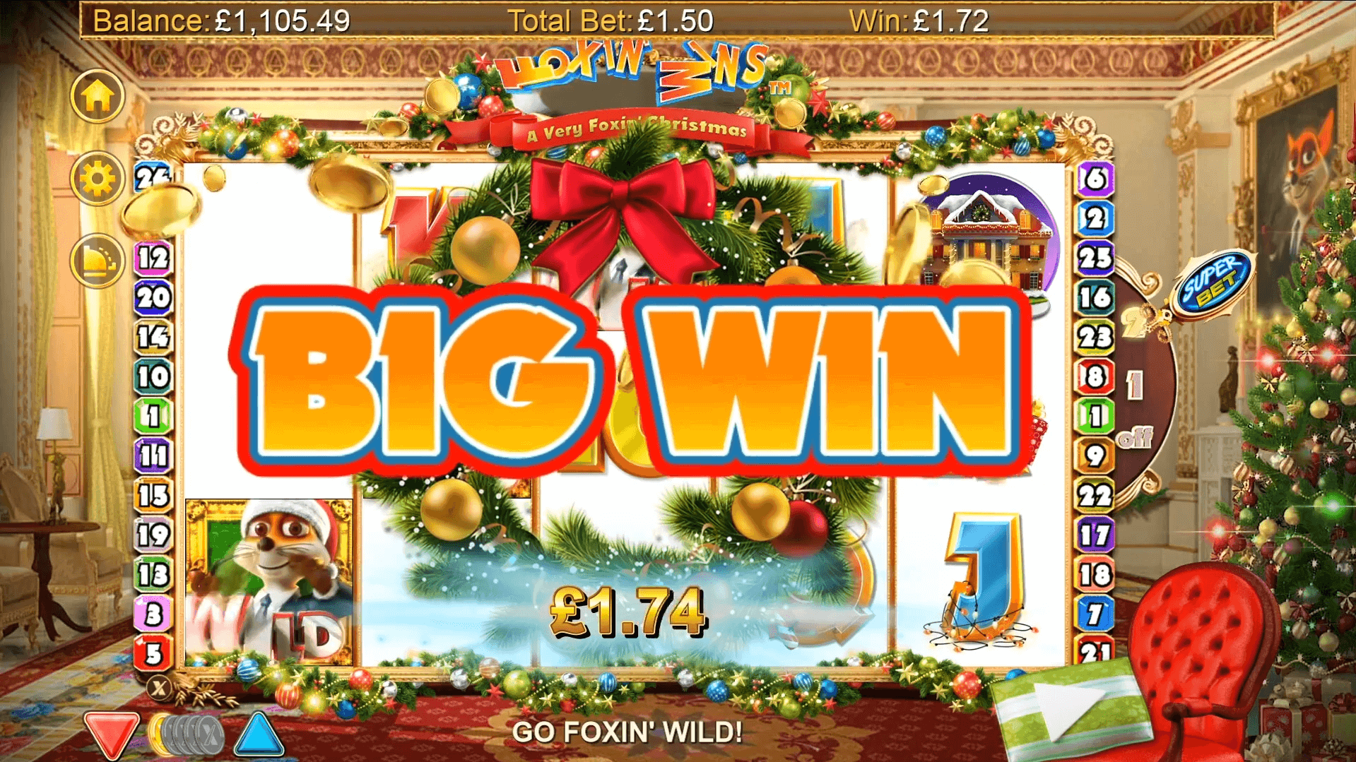 Spiele Foxin Wins - A Very Foxin Christmas - Video Slots Online