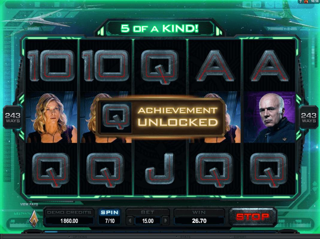 Battlestar Galactica slot: Play with $1,600 Free Bonus! - YummySpins