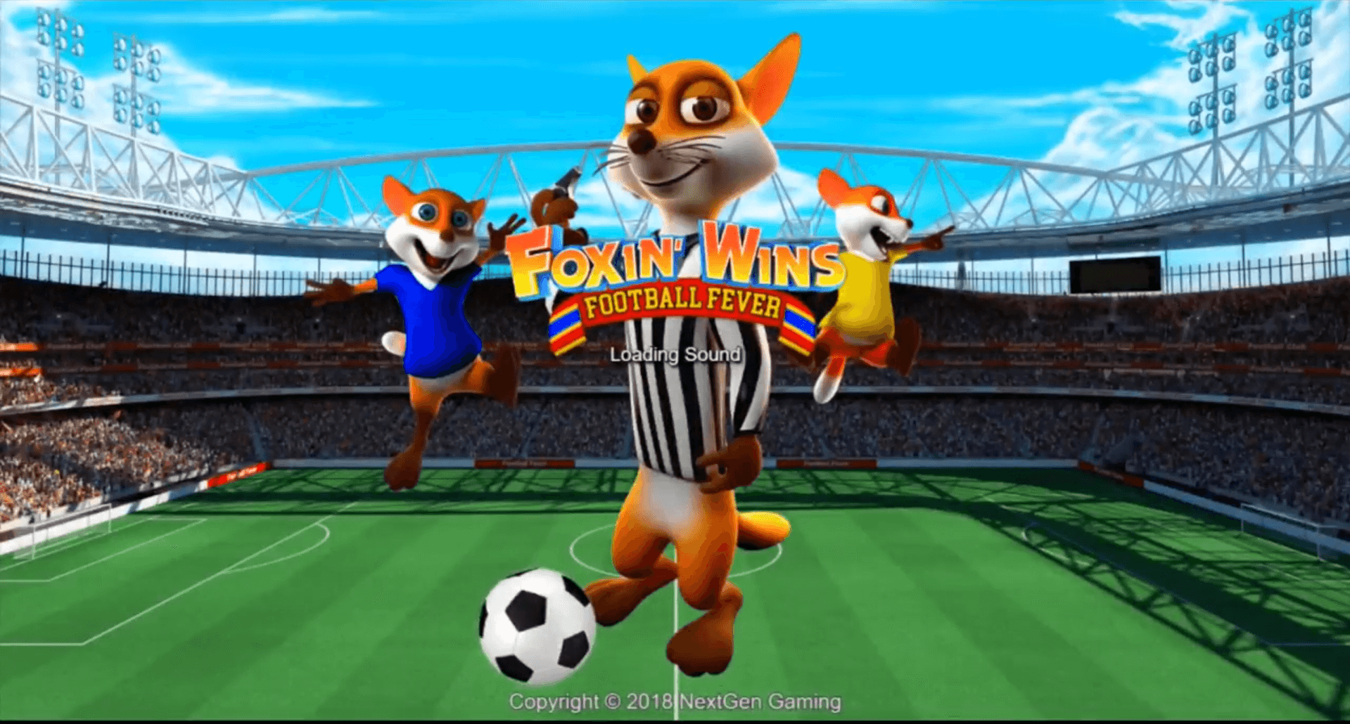 Foxin' Wins Football Fever slot