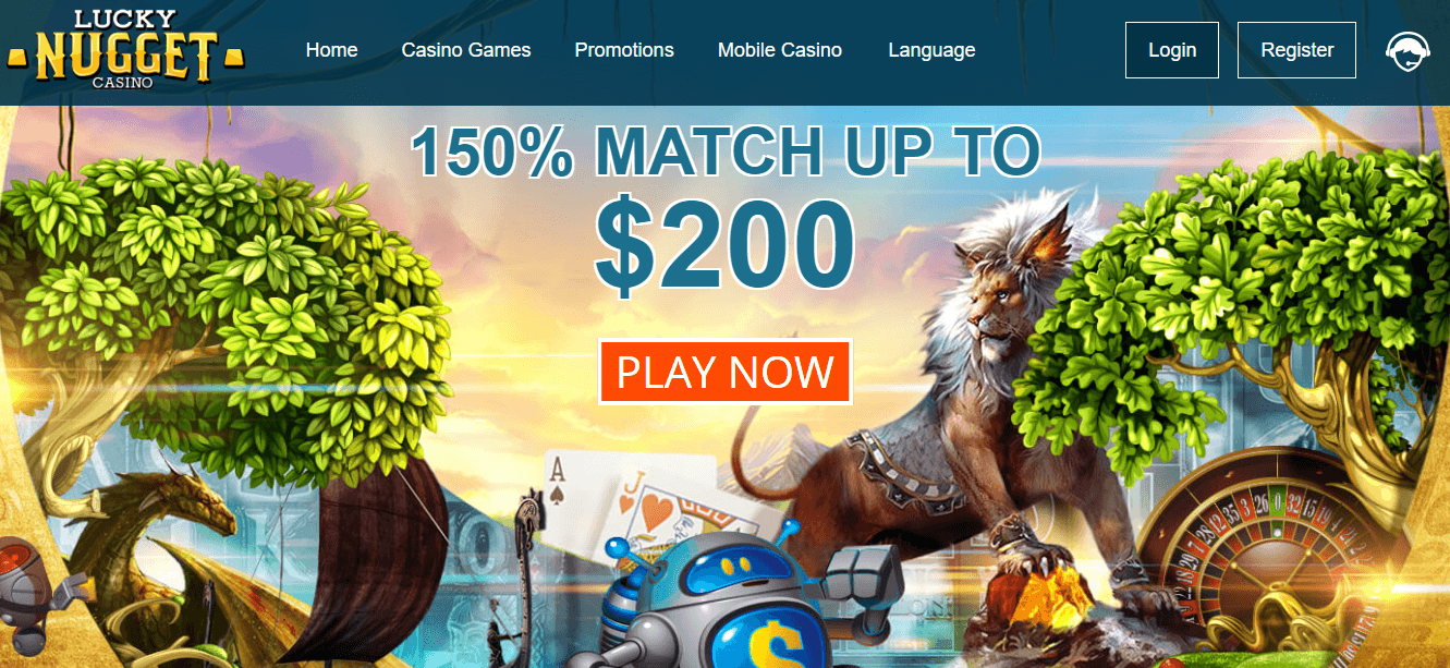 Lucky Nugget Casino Bonuses