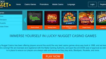 Lucky Nugget Casino Free Spins Bonus 2020 Yummyspins