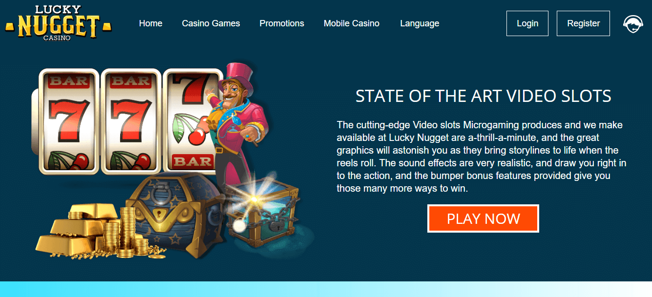 Lucky nugget 150 free spins games