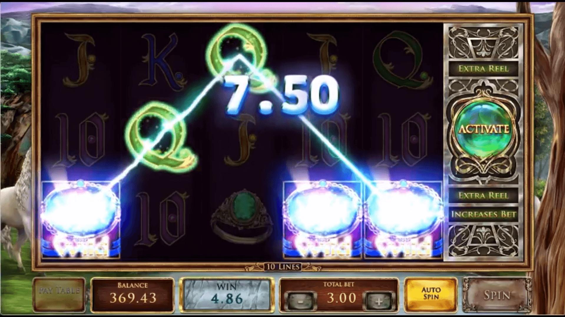 Mystic Mirror Slot Machine
