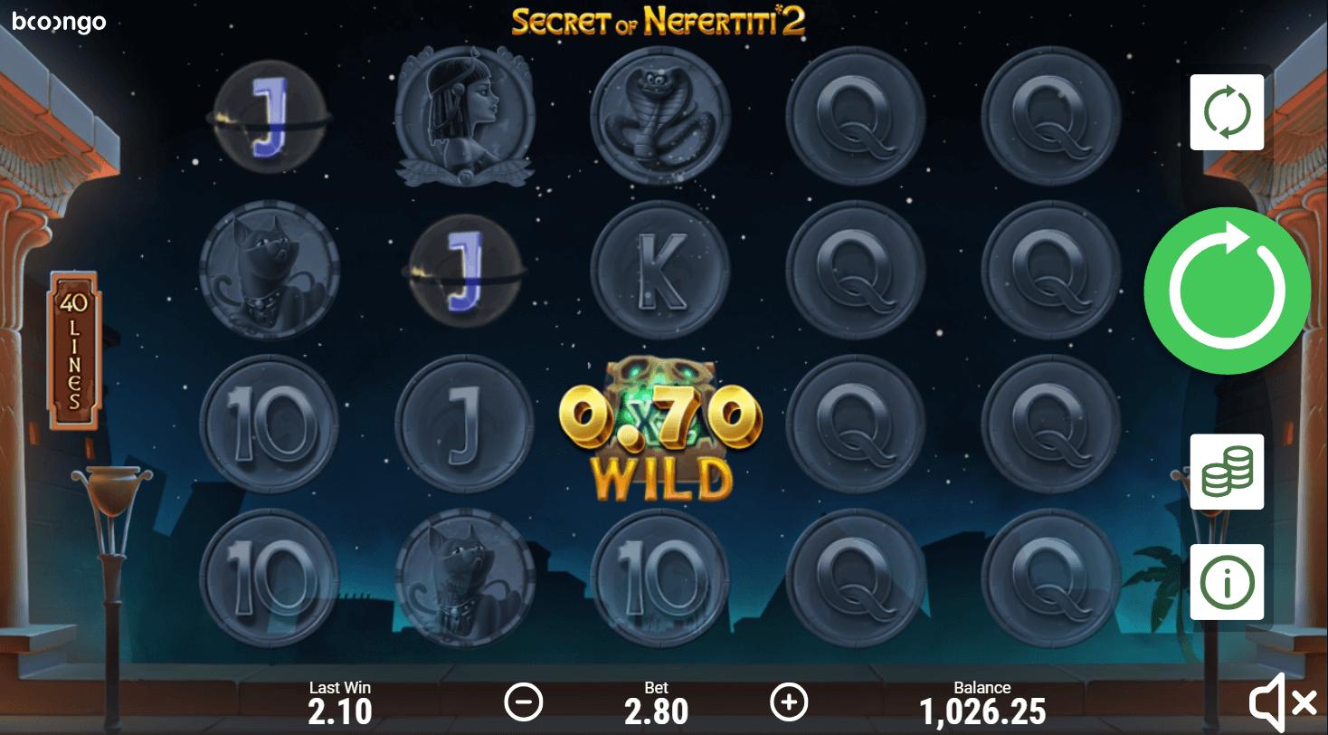 Secret Of Nefertiti Slot Machine