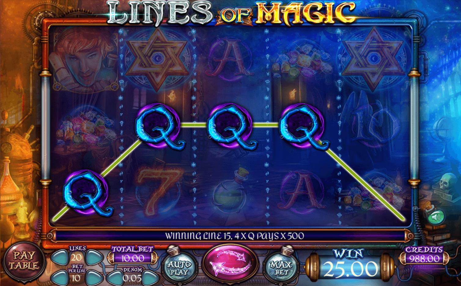 Spiele Lines Of Magic - Video Slots Online
