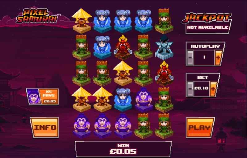 Spiele Pixel Samurai - Video Slots Online