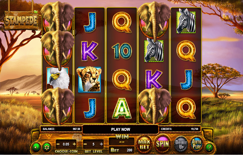 Stampede Slot Machine Online