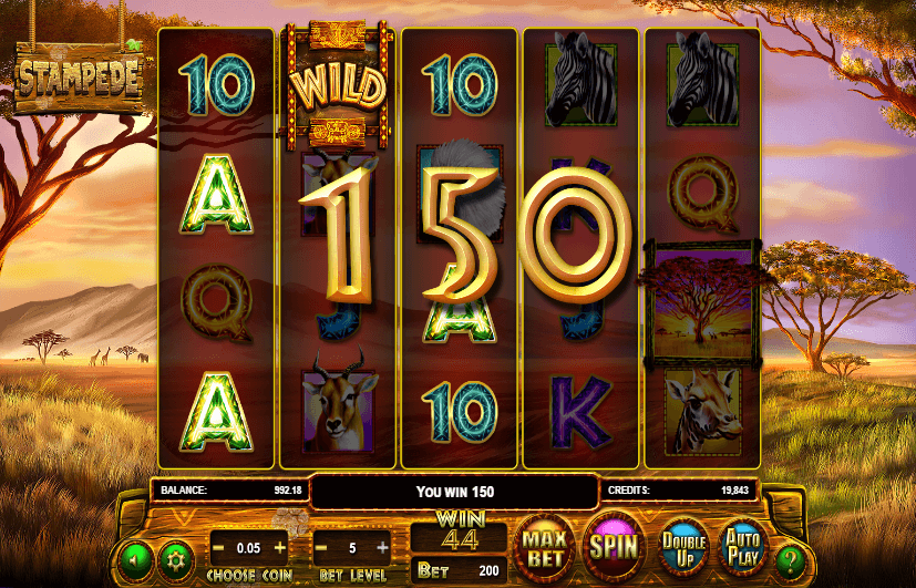 Spiele Stampede - Video Slots Online