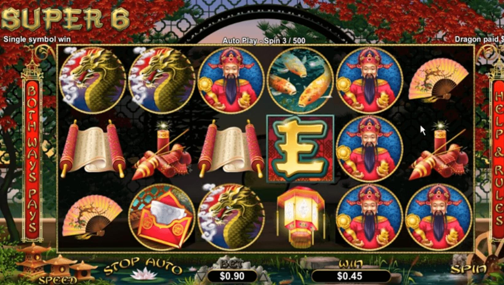 Spiele Super 6 - Video Slots Online