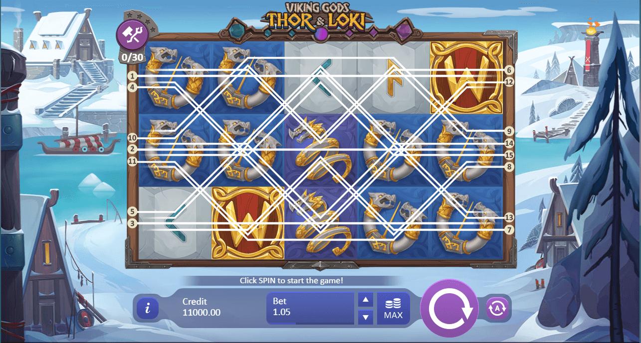 Spiele Viking Gods: Thor And Loki - Video Slots Online
