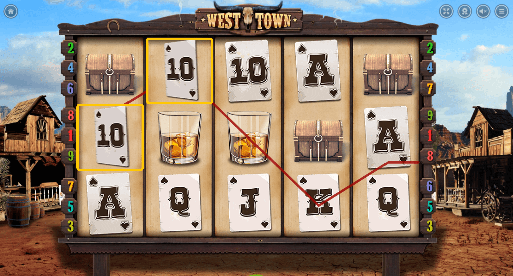 West Town slot: Play with 100 Free Spins Bonus! - YummySpins