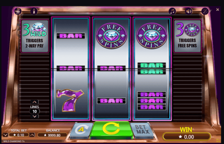 Spiele Wild Diamond 7x - Video Slots Online