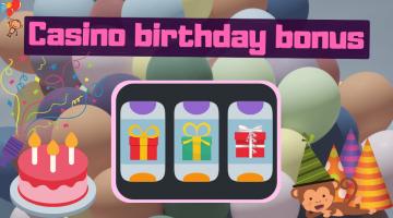 casino birthday bonus