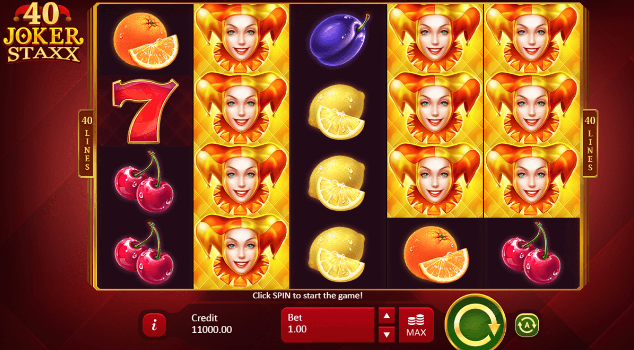 Spiele Lucky Staxx: 40 Lines - Video Slots Online