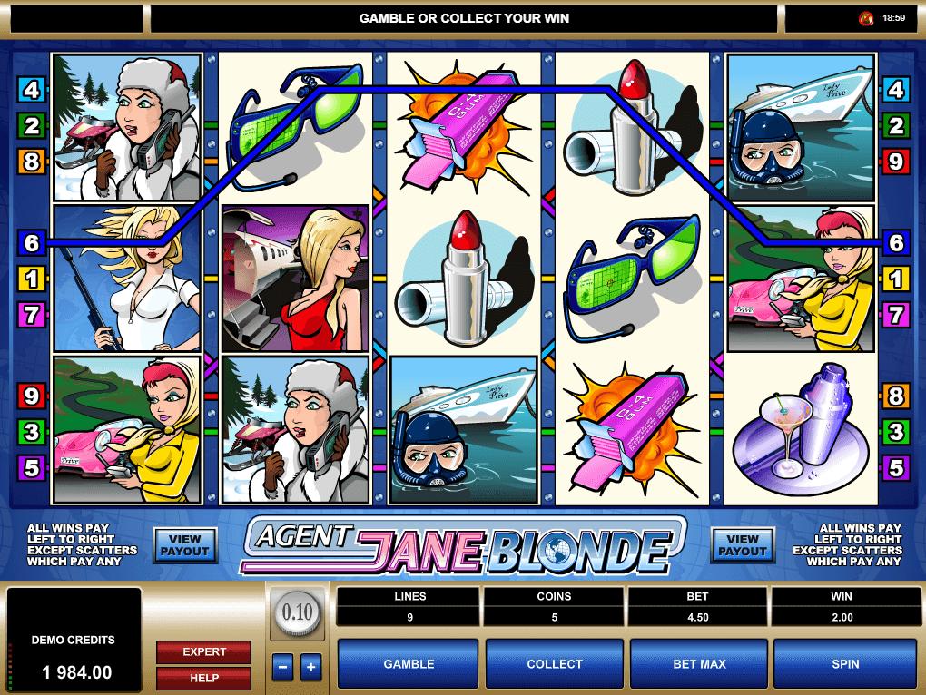 Spiele Agent Jane Blonde - Video Slots Online