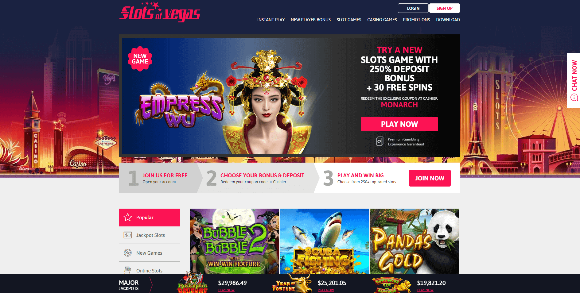 Slots Of Vegas Free Spins