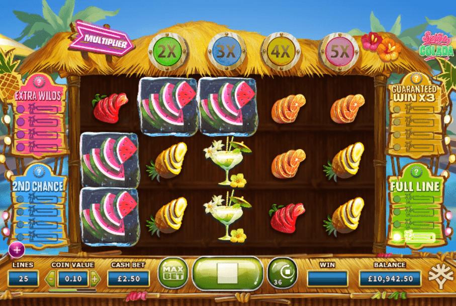 Spina Colada No Download Slot Machine Online