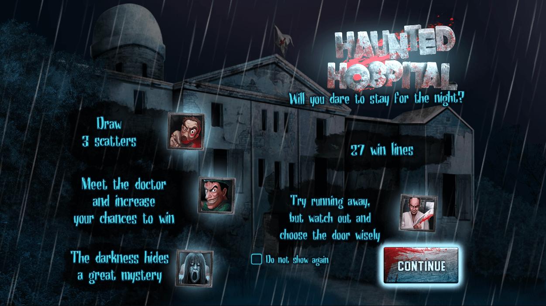 Haunted Hospital Games
