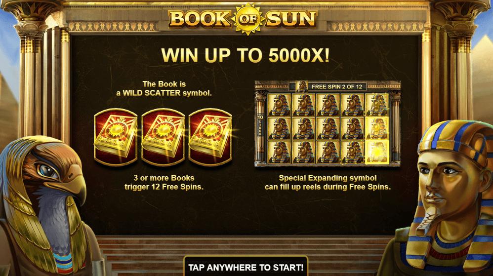 Spiele Book Of Sun - Video Slots Online