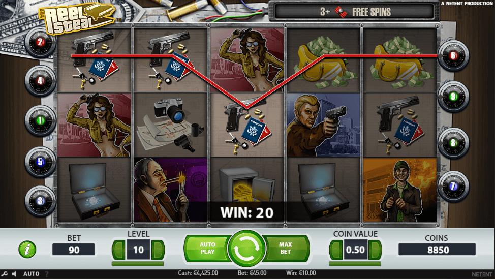 Spiele Reel Steal - Video Slots Online