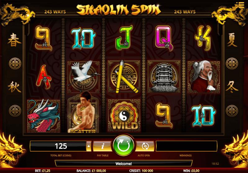 Spiele Shaolin - Video Slots Online