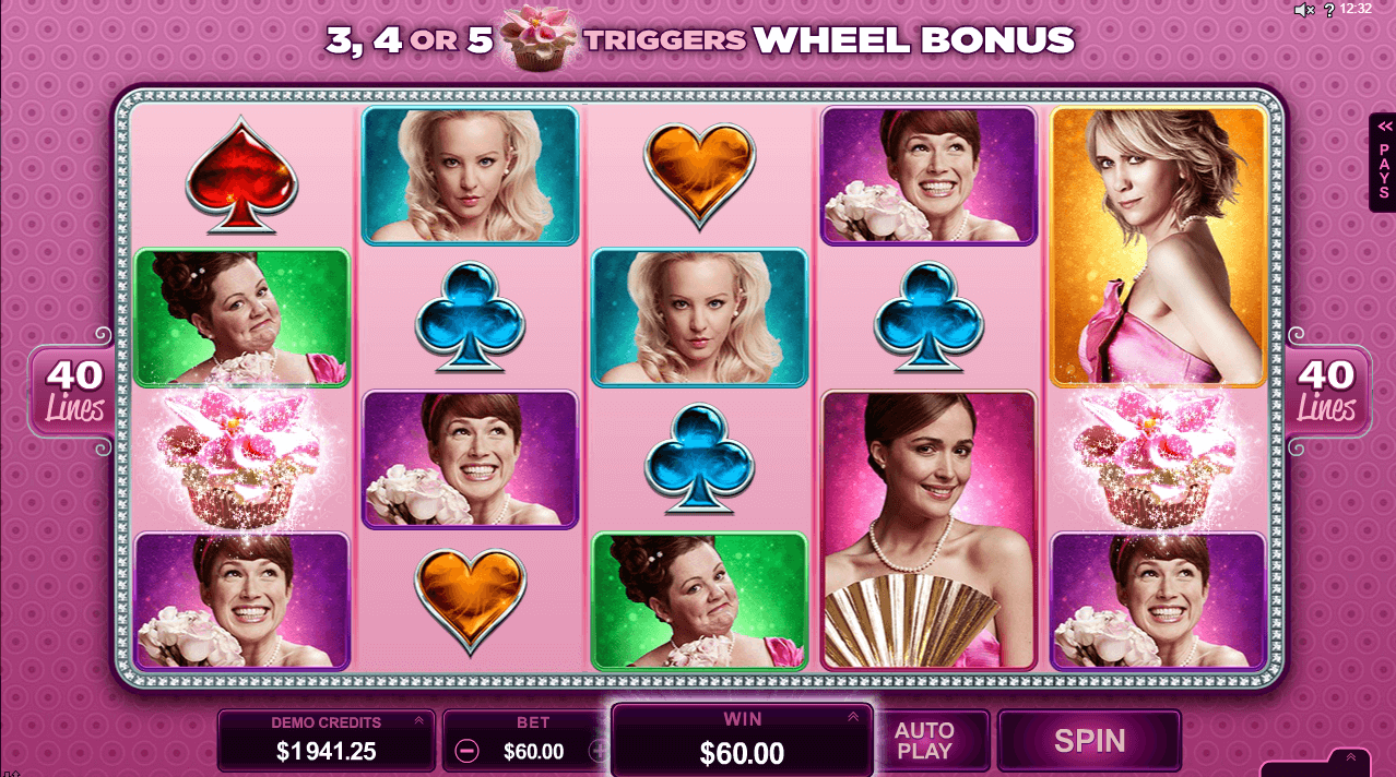 Get Free Spins On The New Microgaming Bridesmaids Slot