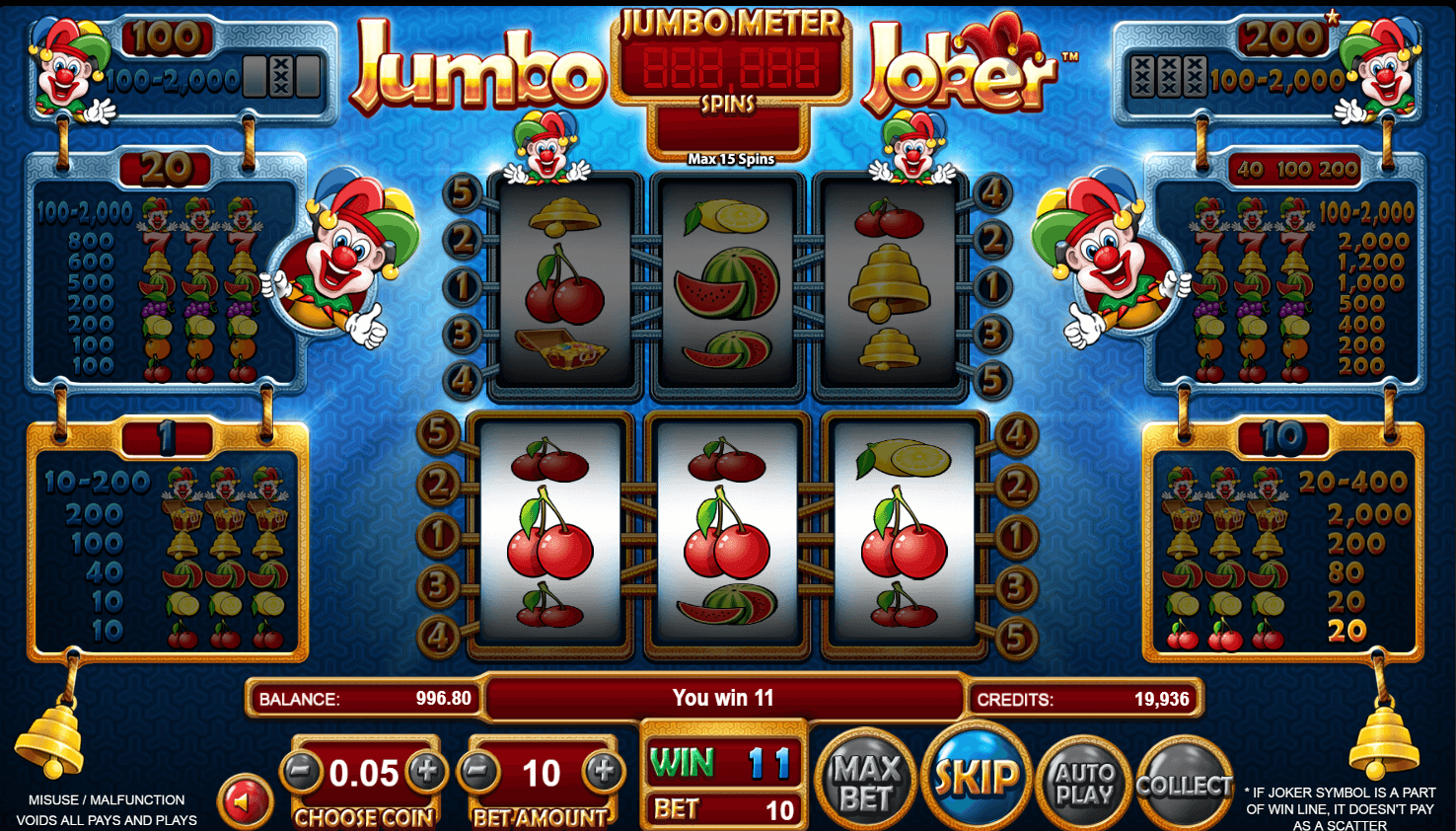 Spiele Action Joker - Video Slots Online