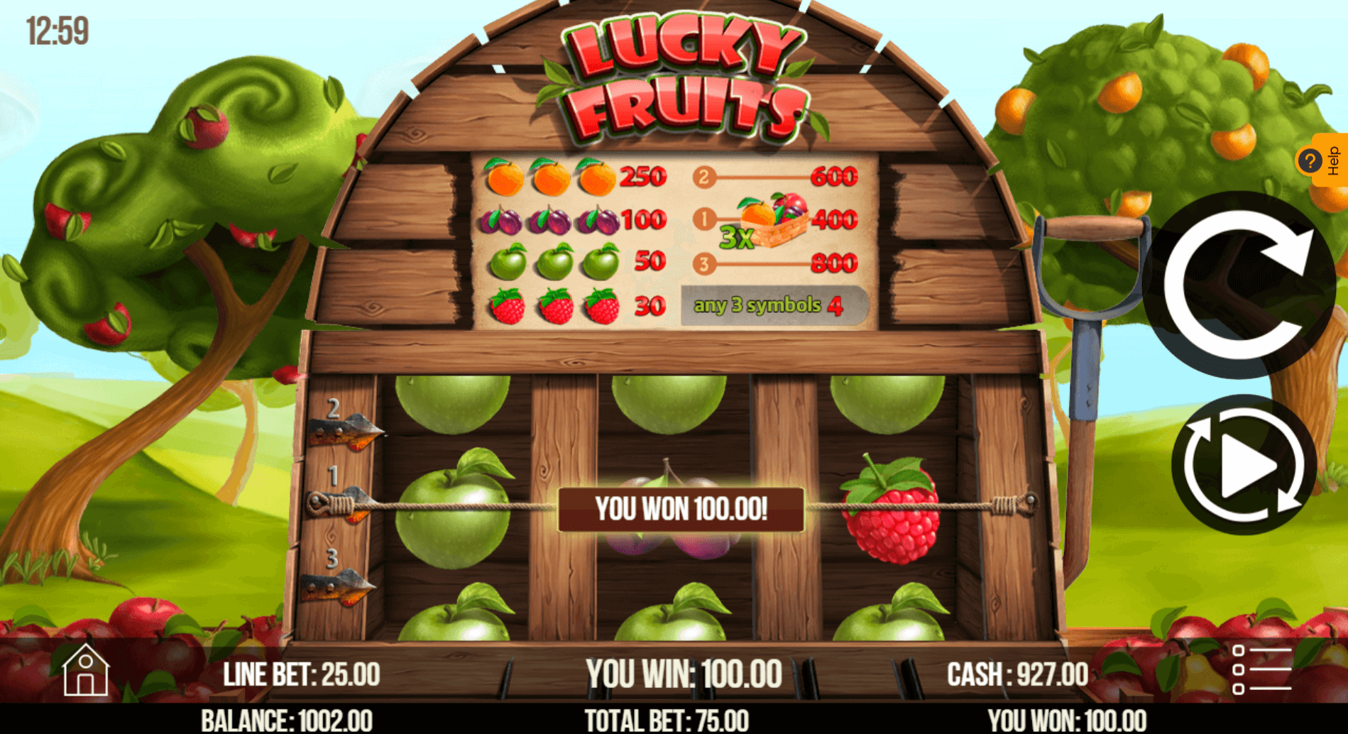 Review The Lucky Fruits Slots With No Download