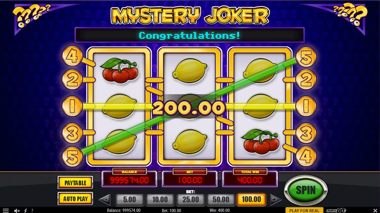 Spiele Mystery Joker - Video Slots Online