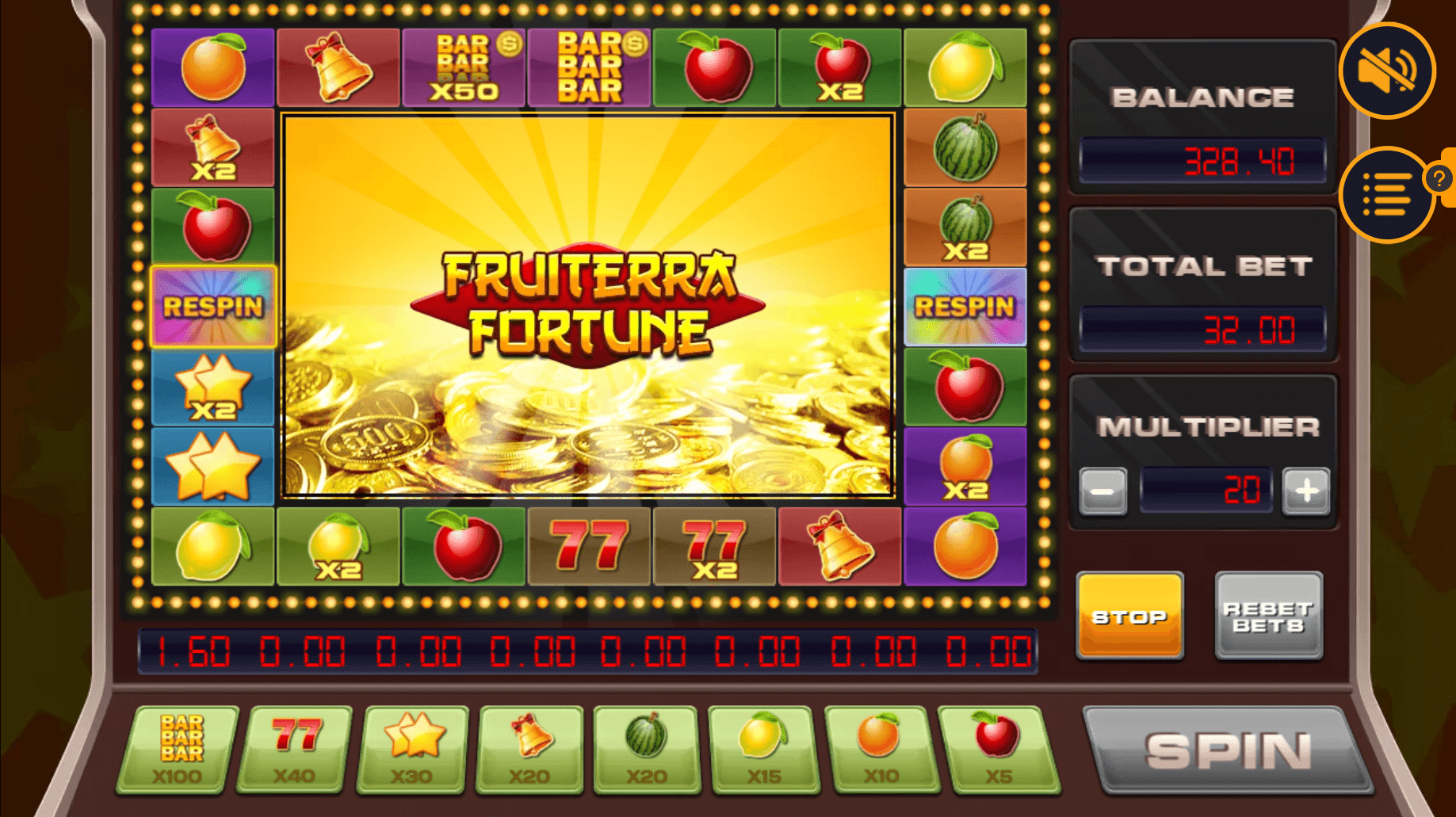 Spiele Fruiterra Fortune - Video Slots Online