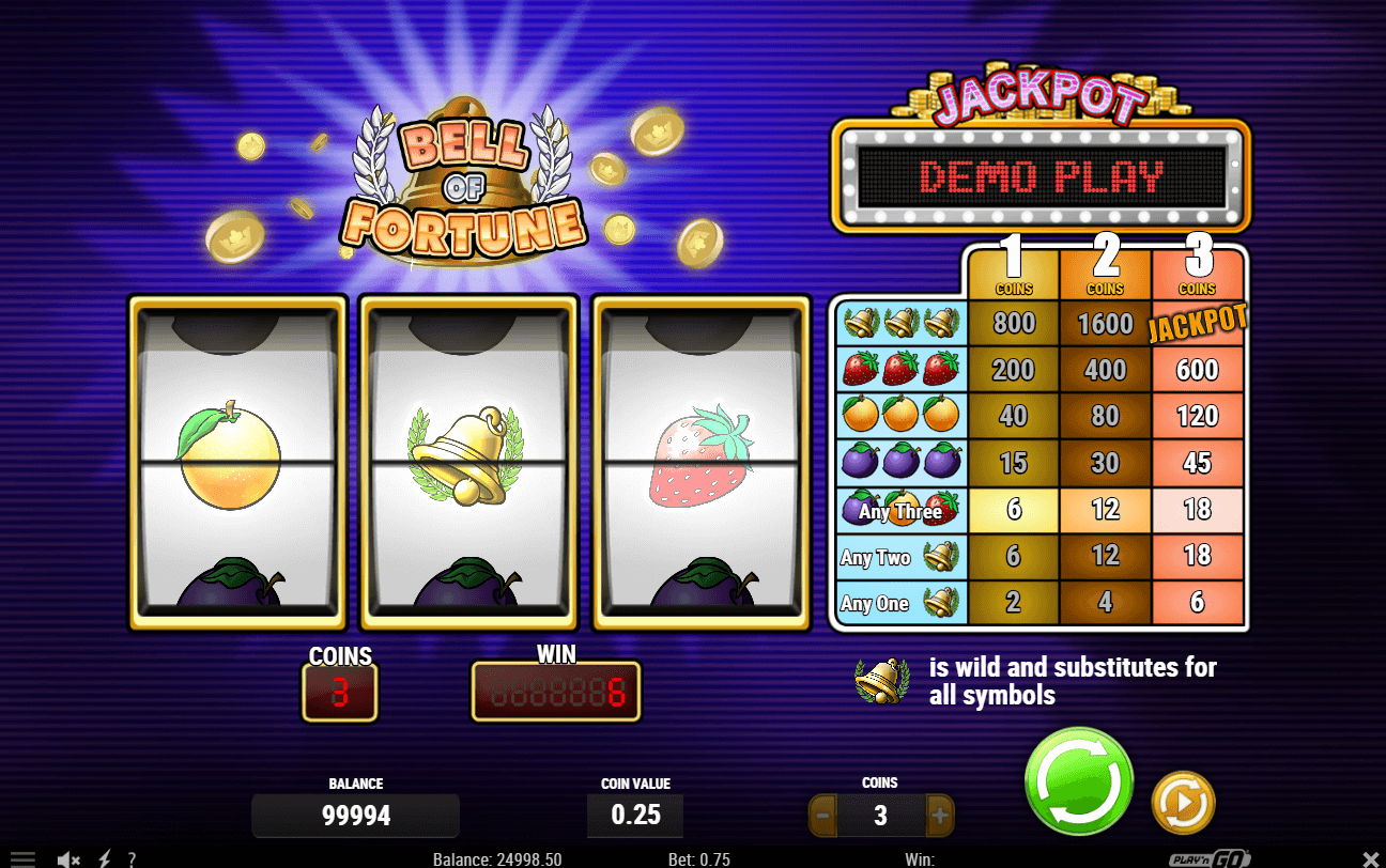 Spiele Bell Of Fortune - Video Slots Online