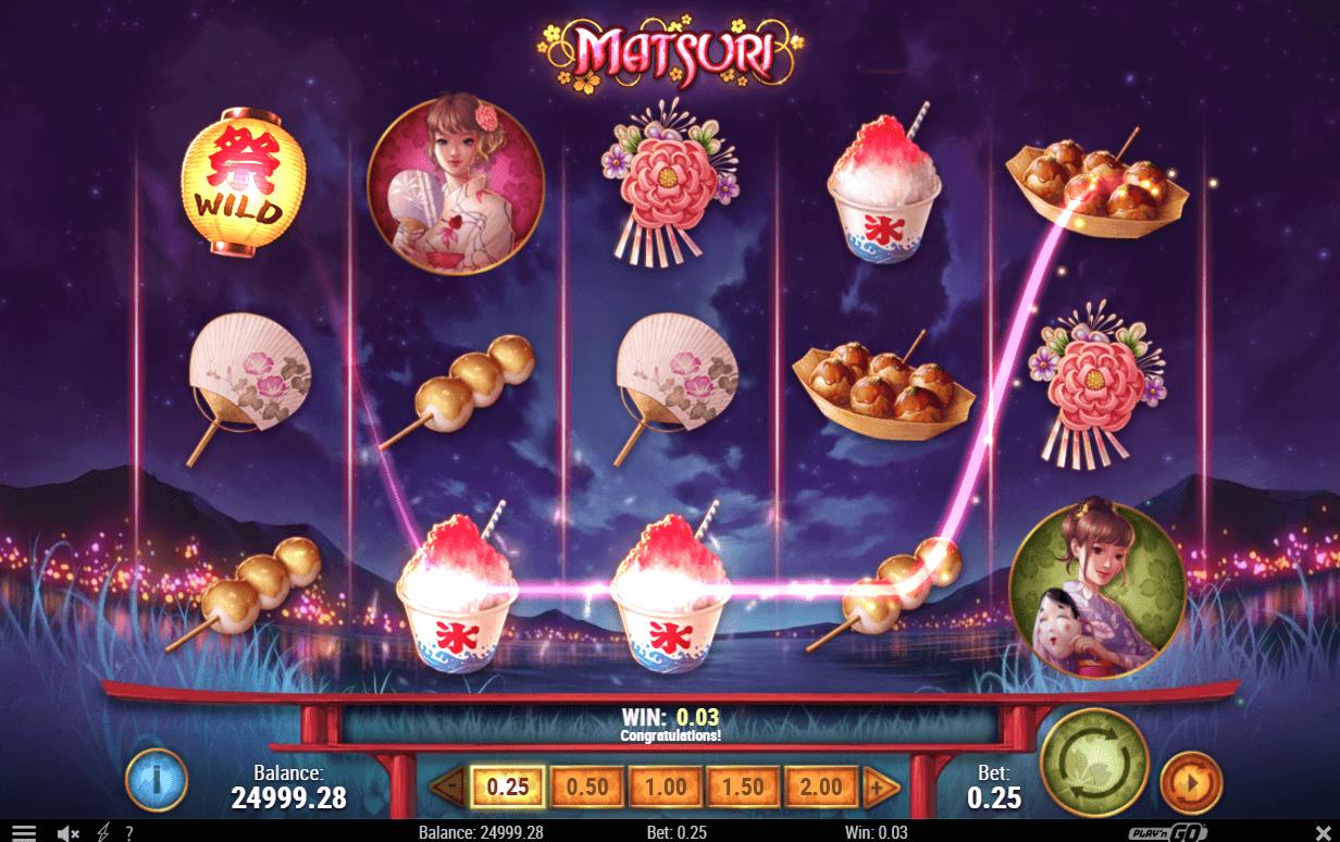 Spiele Matsuri - Video Slots Online
